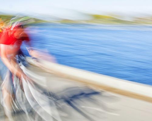 Biking on the Esplanade