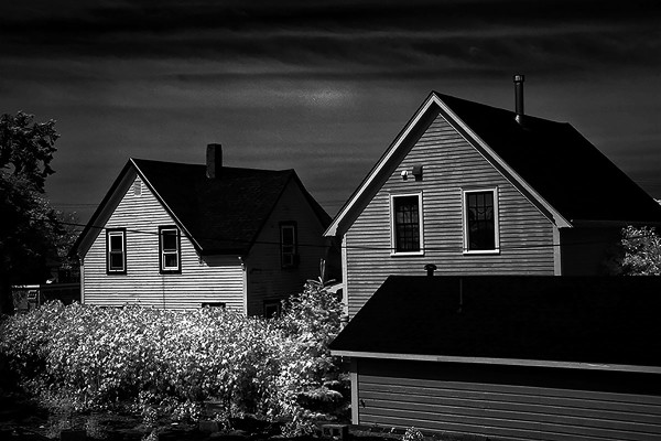 Two houses, Gloucester, MA