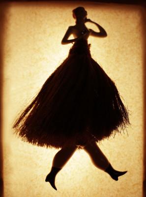Broom Skirt Lady