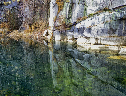 East Wall Reflection #2