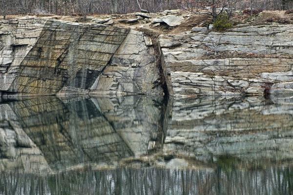 Reflection at Steel Derrick