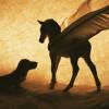Winged Pony and Dog thumbnail