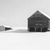 Barn Shadow, Rollinsford, NH thumbnail