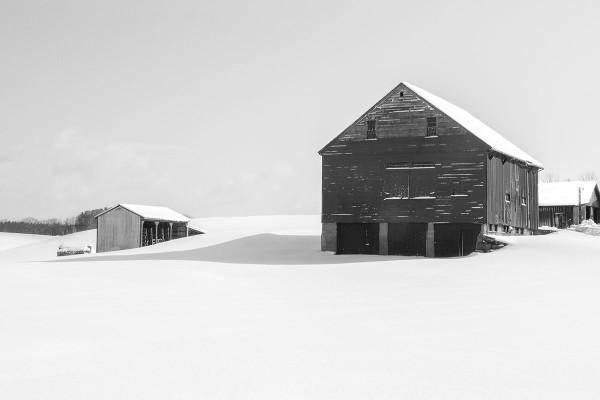 Barn Shadow, Rollinsford, NH