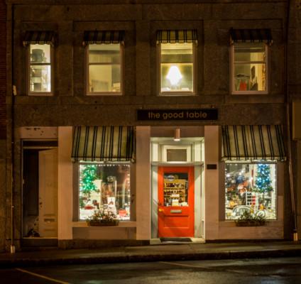 Red Door on Main Street